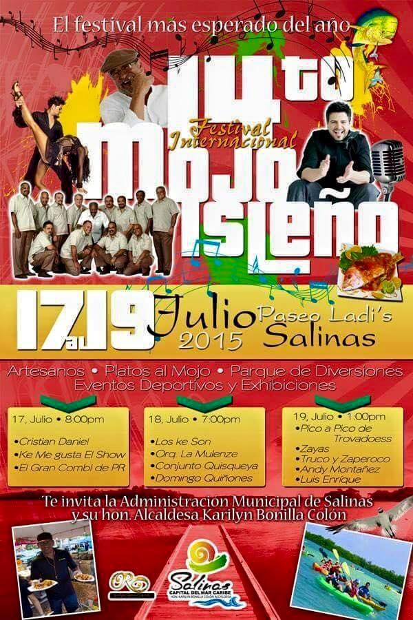 Festival Internacional del Mojo Isleño 2015