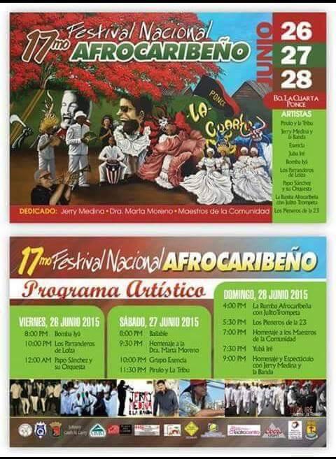 Festival Nacional Afrocaribeño 2015