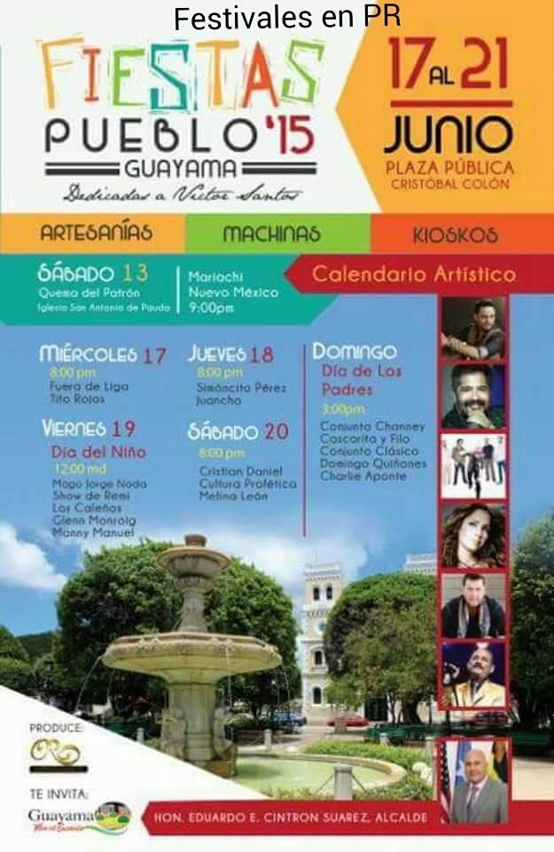 Fiestas Patronales de Guayama 2015 2