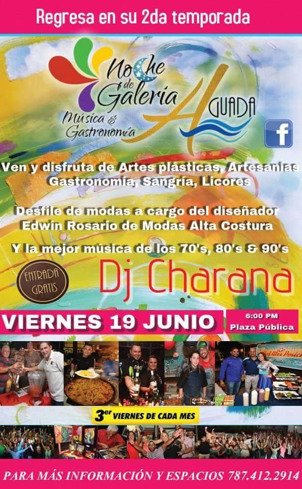 Noches de Galería Música & Gastronomía- Junio 2015