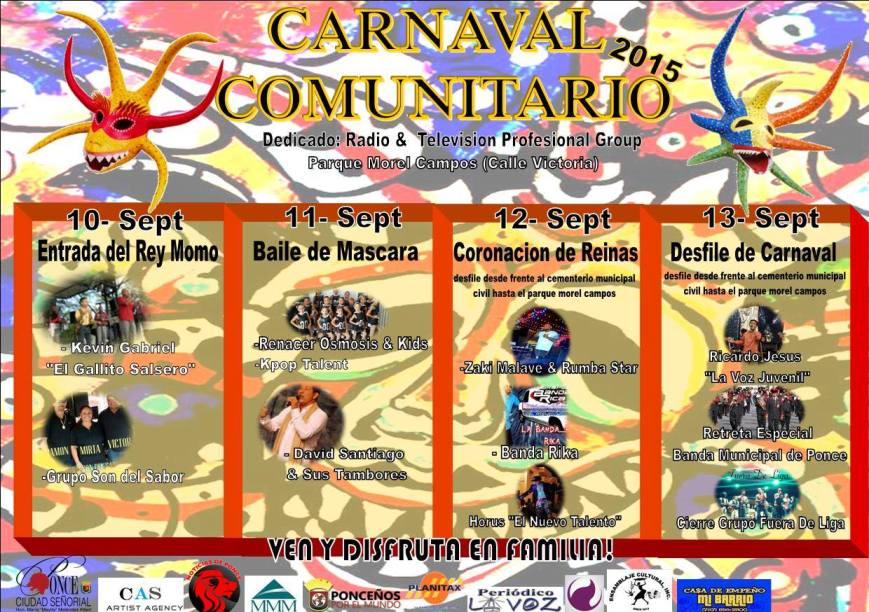 Carnaval Comunitario Ponceño 2015 2