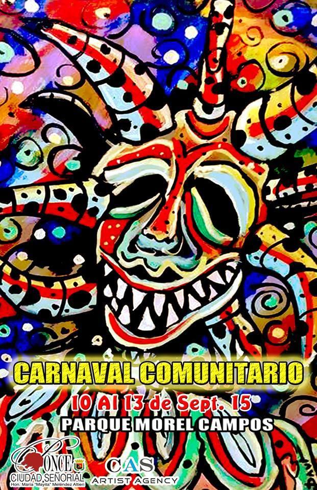 Carnaval Comunitario Ponceño 2015