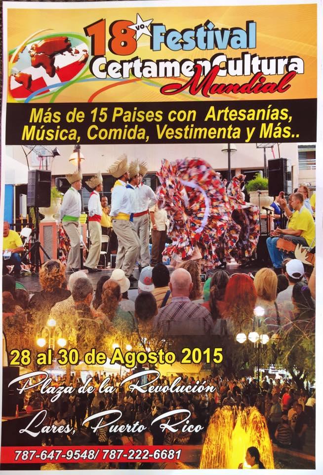 Festival Certamen Cultural Mundial 2015