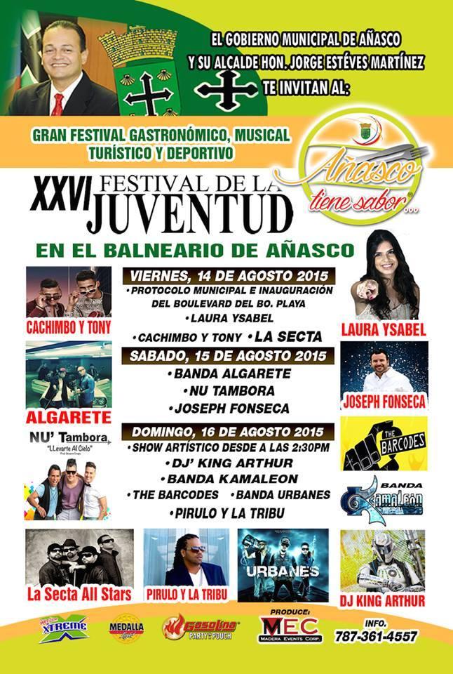 Festival de la Juventud de Añasco 2015