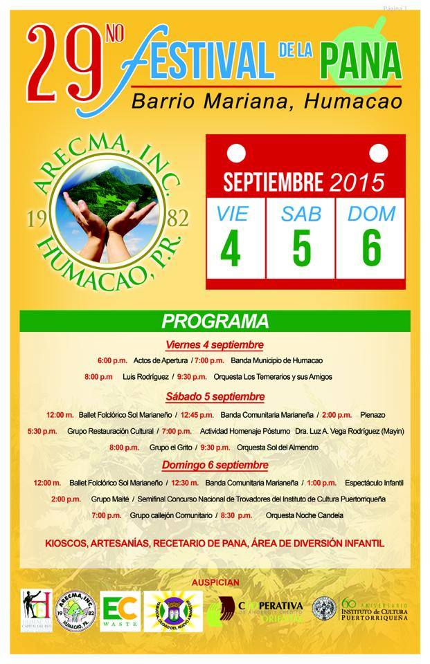 Festival de la Pana 2015