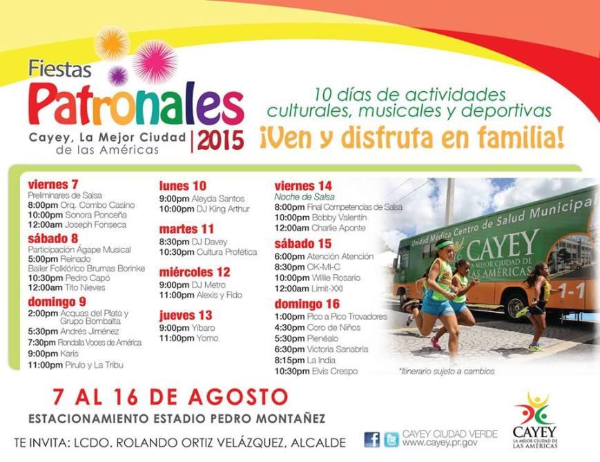 Fiestas Patronales Cayey 1