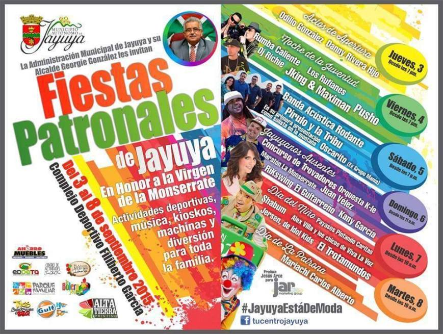 Fiestas Patronales de Jayuya 2015