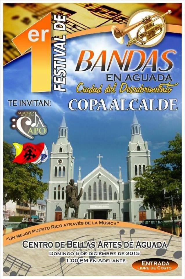Festival de Bandas en Aguada 2015