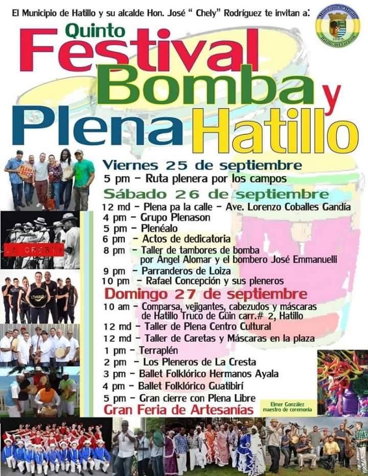 Festival de Bomba y Plena en Hatillo 2015