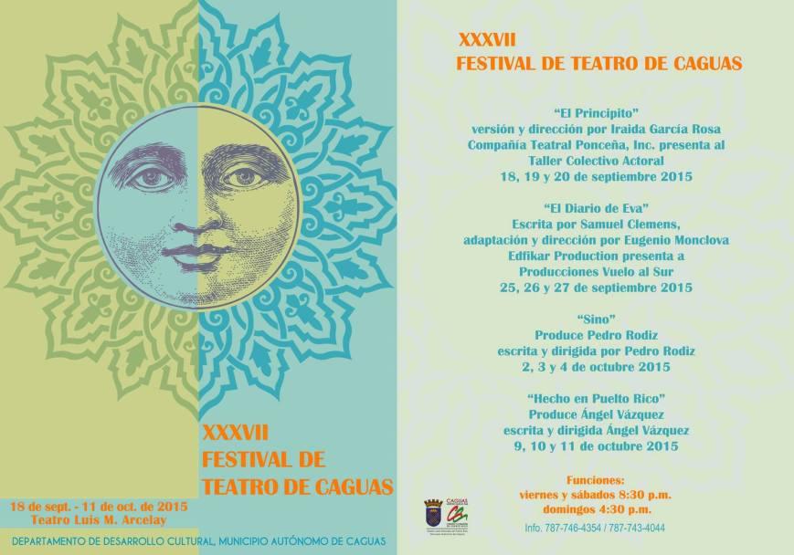 Festival de Teatro de Caguas 2015