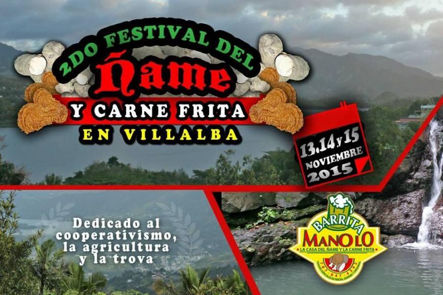 Festival del Ñame y la Carne Frita 2015