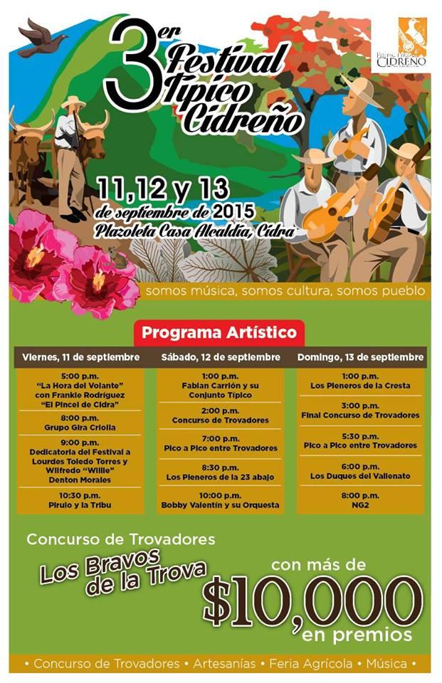 Festival Típico Cidreño 2015