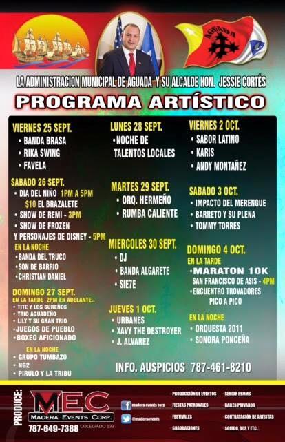 Fiestas Patronales de Aguada 2015 2