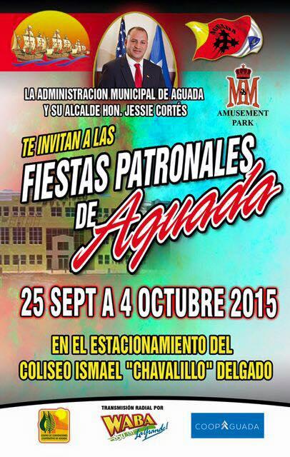 Fiestas Patronales de Aguada 2015