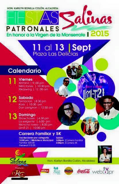 Fiestas Patronales de Salinas 2015
