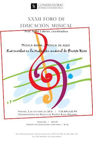 Foro de Educación Musical 2015