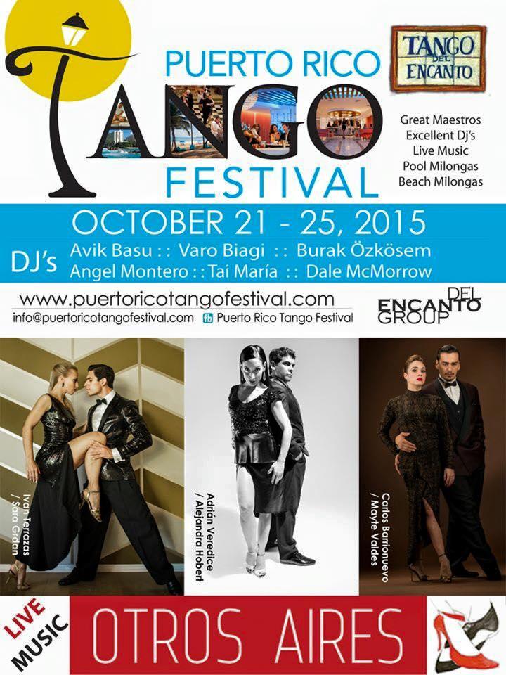 Puerto Rico Tango Festival 2015
