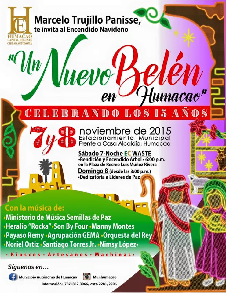 Encendido Navideño 2015 @ Humacao