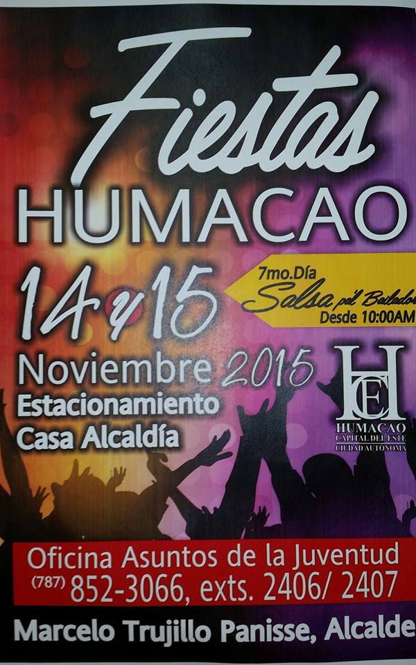 Fiestas Patronales de Humacao 2015