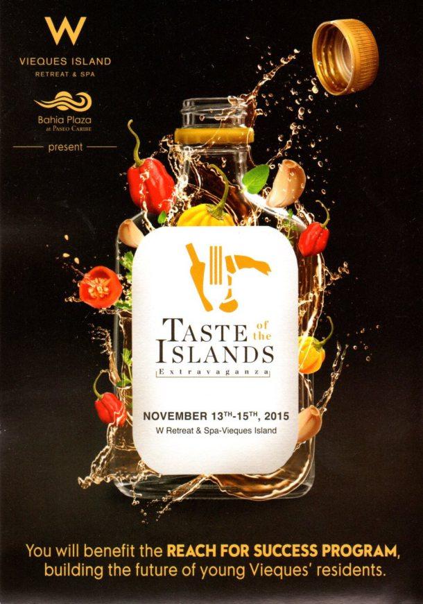 Taste of the Islands Extravaganza 2015 1