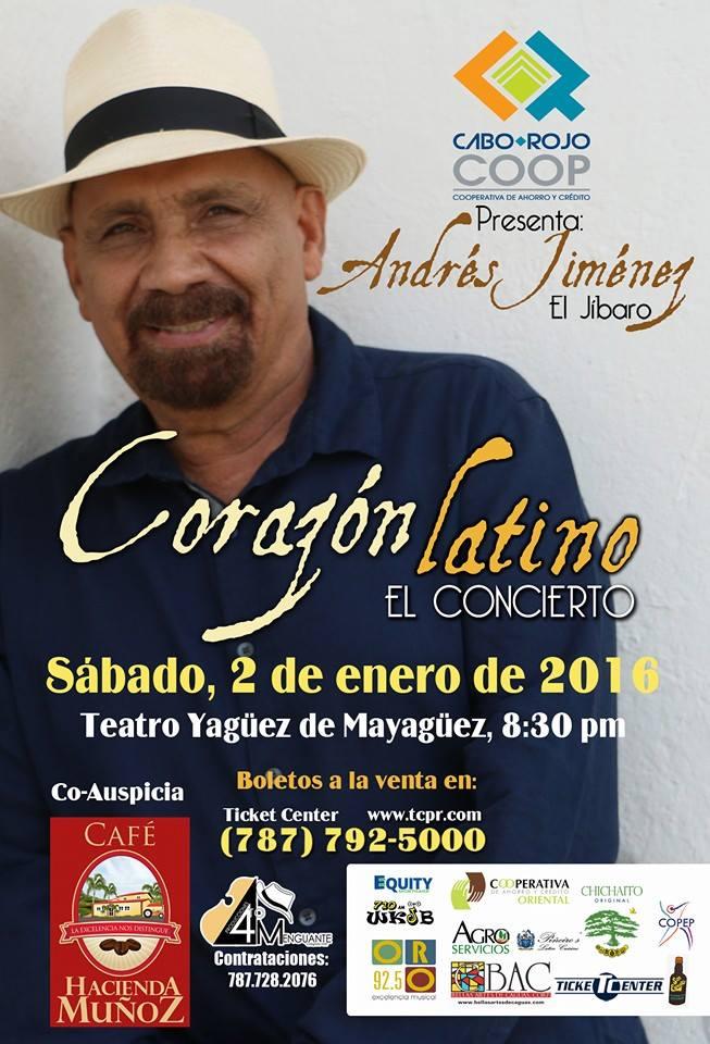 Andrés Jiménez- Corazón Latino