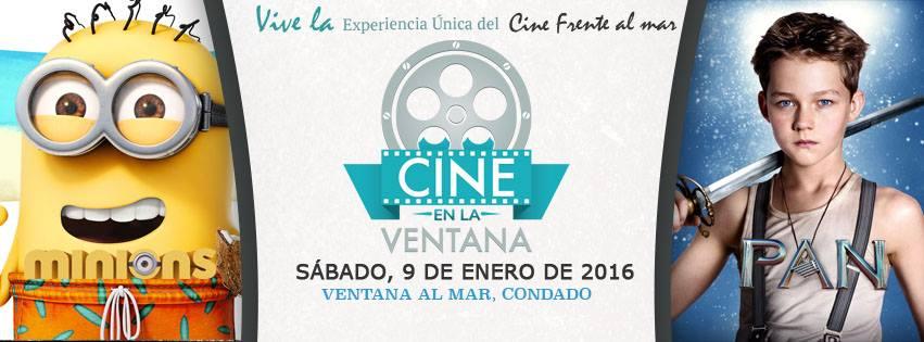 Cine en la Ventana- Enero 2016