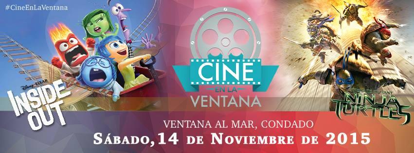 Cine en la Ventana- Noviembre 2015