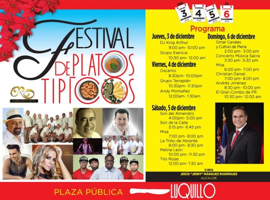 Festival de Platos Típicos 2015