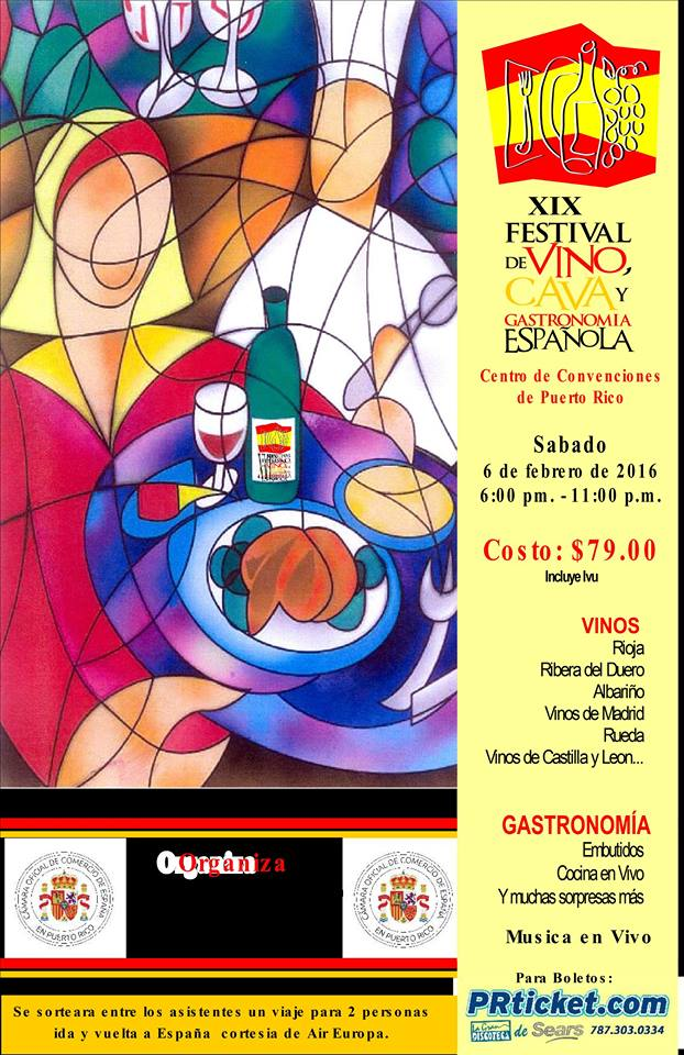 Festival de Vino, Cava y Gastronomía Española 2016