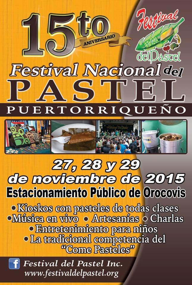 Festival Nacional del Pastel Puertorriqueño 2015 1