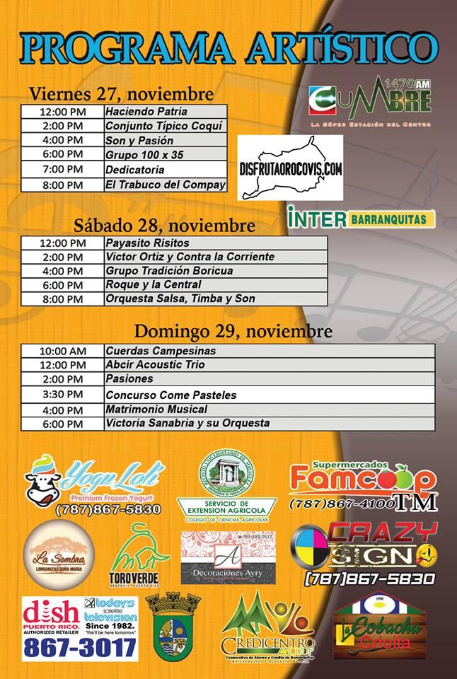 Festival Nacional del Pastel Puertorriqueño 2015 2
