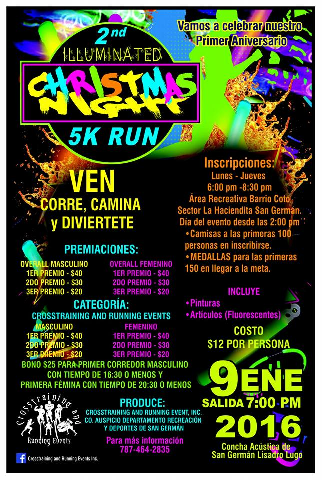 Illuminated Christmas Night 5K Run