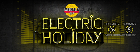 Medalla Light- Electric Holiday
