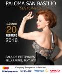 Paloma San Basilio: Sinfónica
