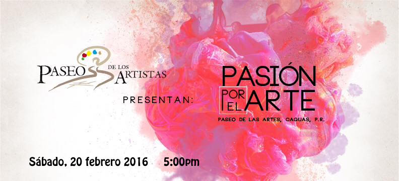 Paseo de los Artistas- Pasión por el Arte