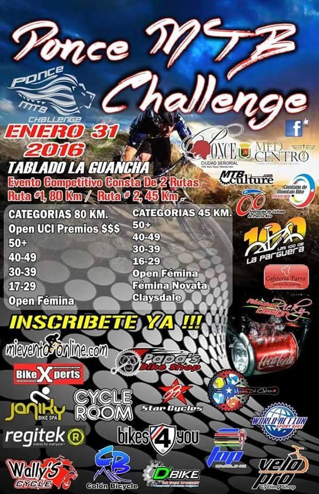 Ponce MTB Challenge 2016