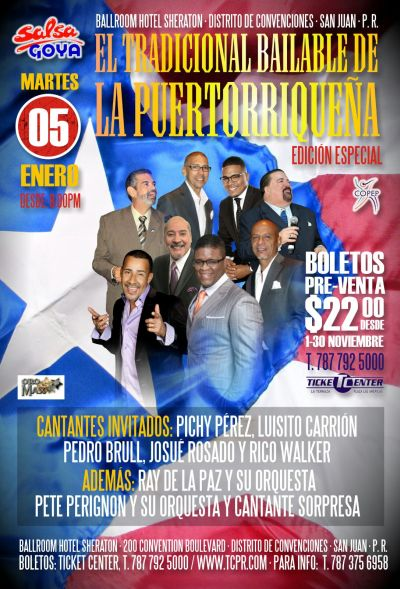 Tradicional Bailable La Puertorriqueña 2016