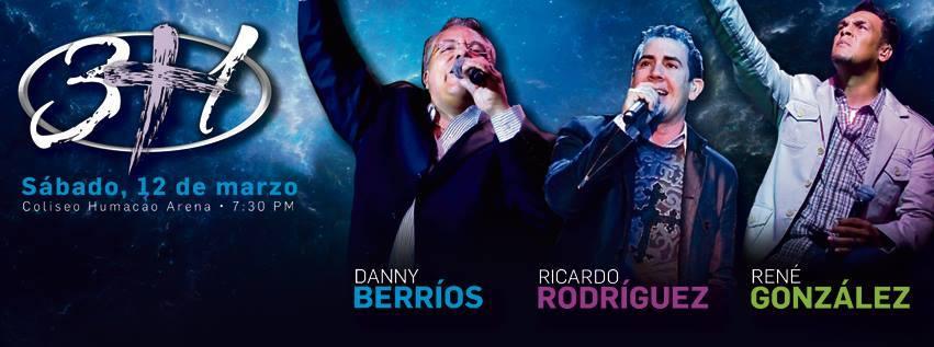 3+1 con- Danny Berrios - Ricardo Rodriguez - Rene Gonzalez