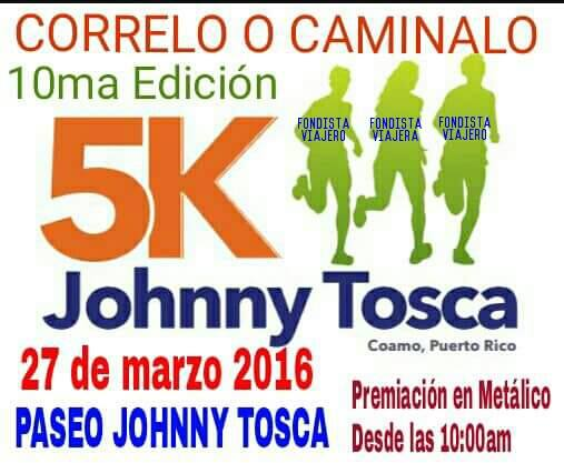 5k Johnny Tosca