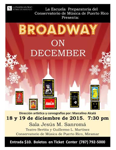 Broadway on December