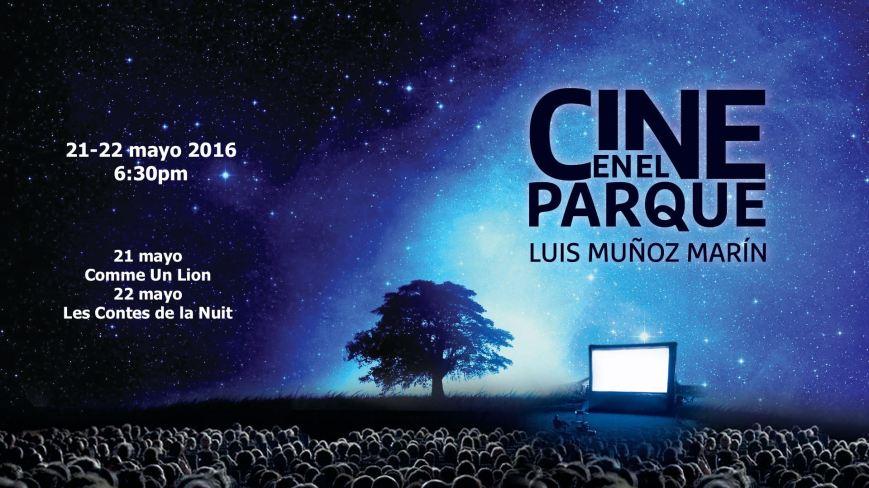 Cine en el Parque Luis Muñoz Marín