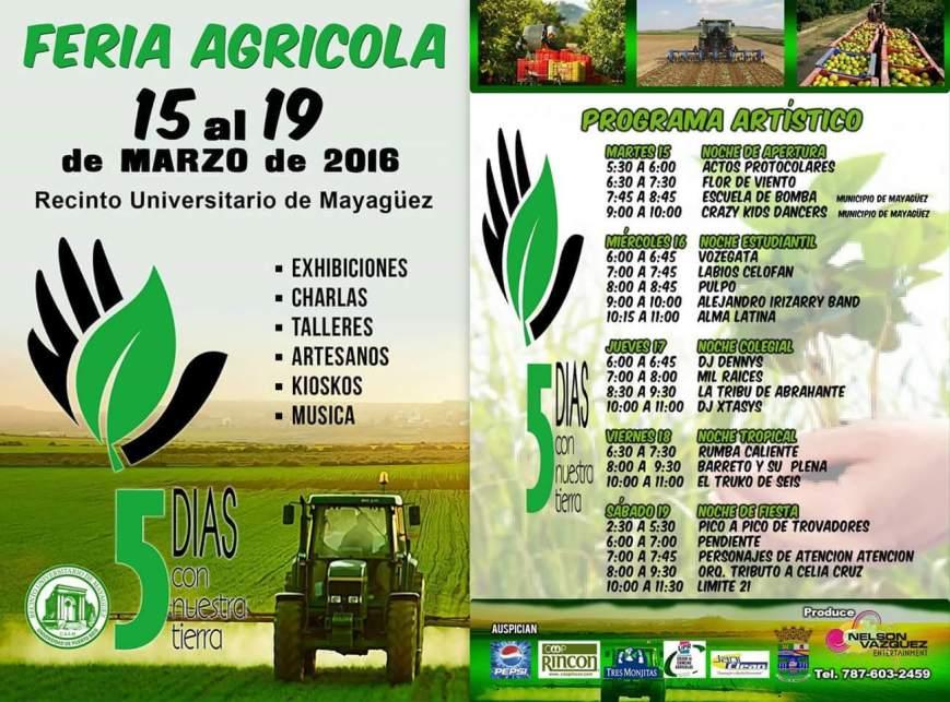 Feria Agrícola Educativa 5 Días con Nuestra Tierra 2016