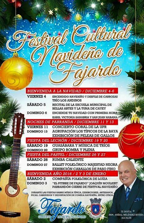 Festival Cultural de Fajardo 2015