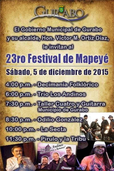 Festival del Mapeyé 2015