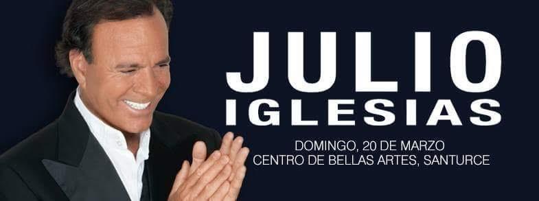 Julio Iglesias- World Tour 2016