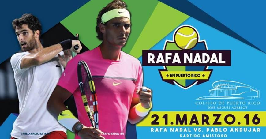 Rafael Nadal en Puerto Rico