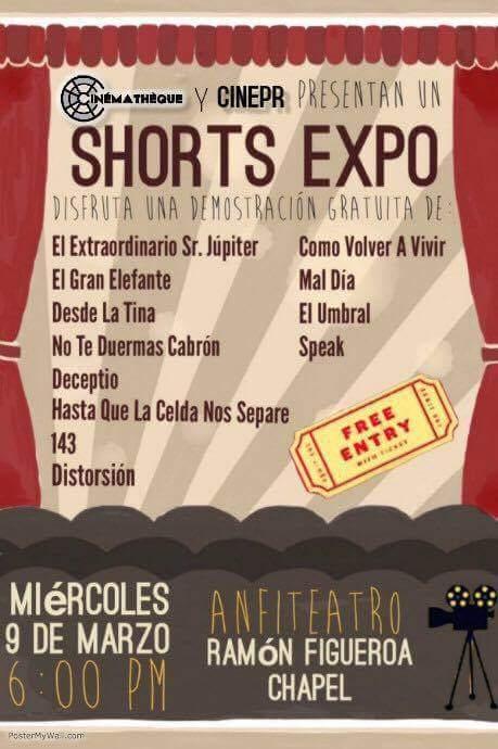 Shorts Expo @ Mayagüez