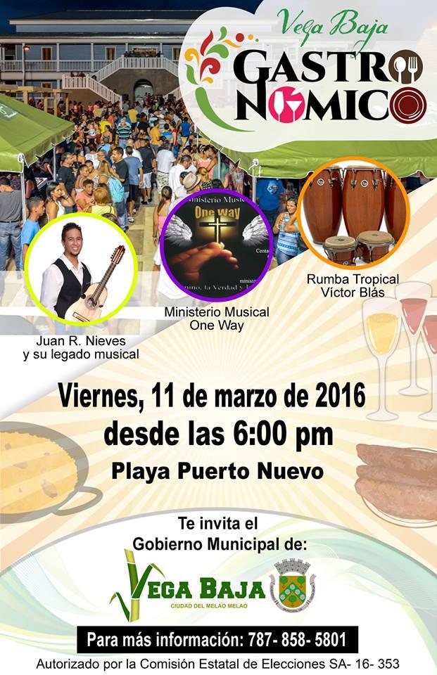 Vega Baja Gastronómico- Marzo 2016