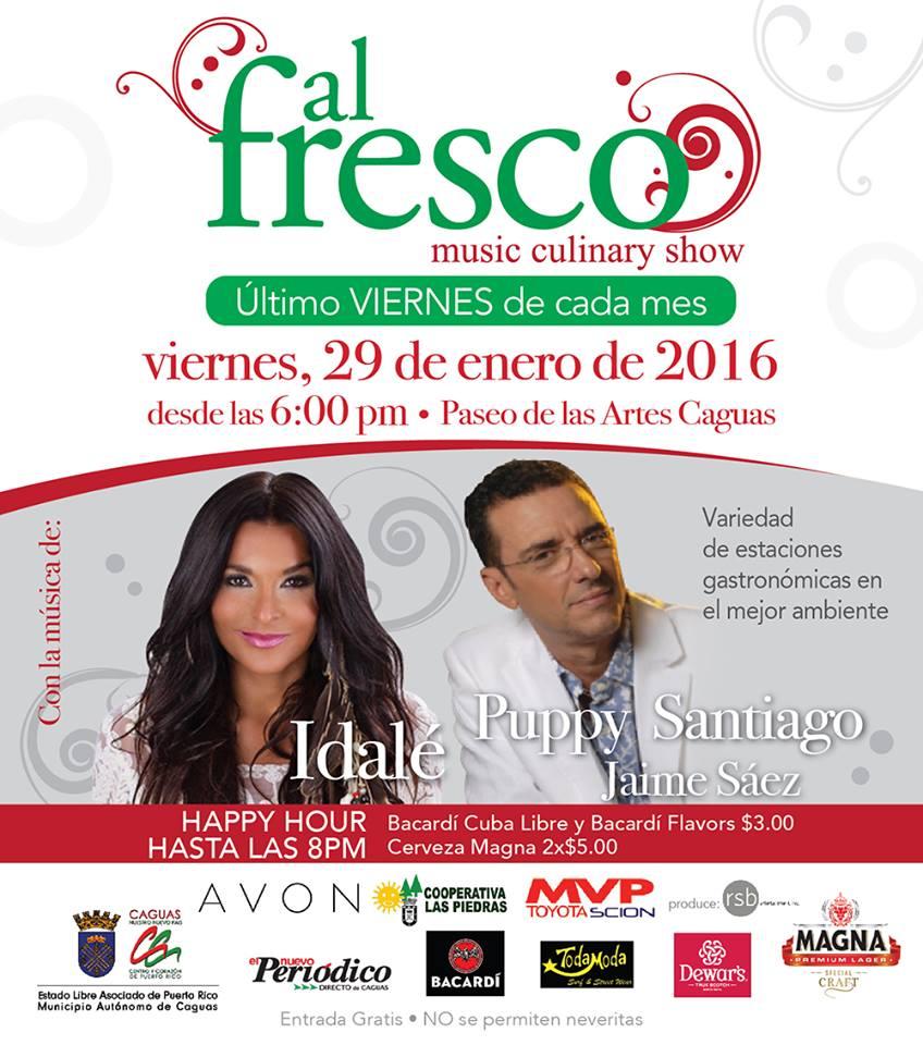 Al Fresco Música & Gastronomía- Enero 2016