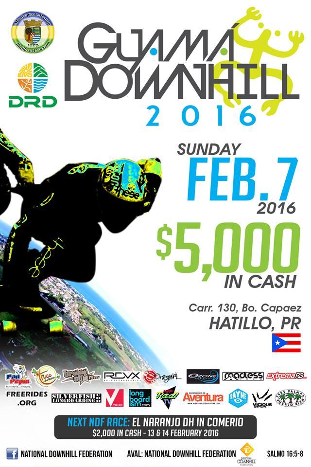 El Guama Downhill 2016